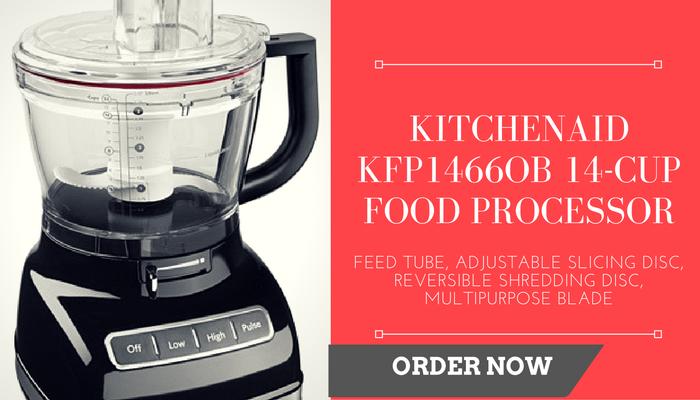 KITCHENAID KFP1466OB 14-CUP FOOD PROCESSOR
