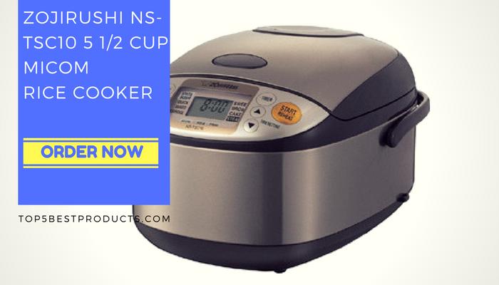 ZOJIRUSHI NS-TSC10 5 1/2 CUP MICOM RICE COOKER