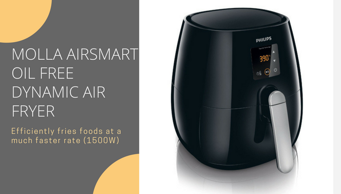 MOLLA AIRSMART OIL FREE DYNAMIC AIR FRYER