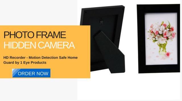 Photo Frame Hidden Camera HD Recorder