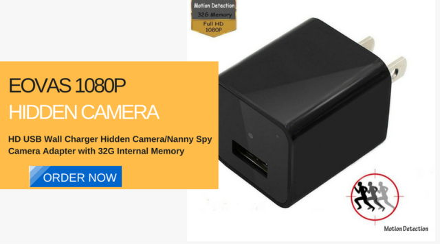Hidden Cameras Charger Adapter