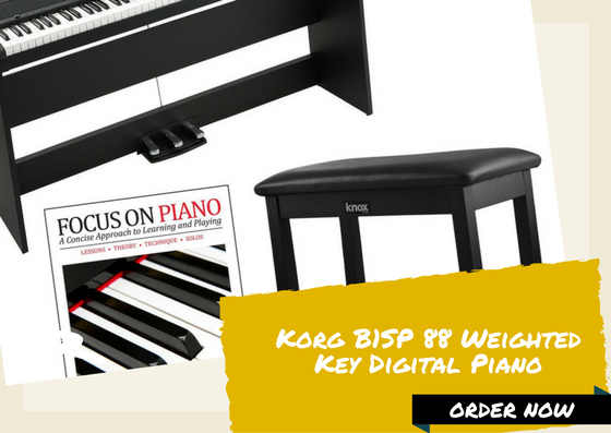 Korg B1SP 88 Weighted Key Digital Piano