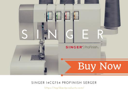 SINGER 14CG754 ProFinish Serger