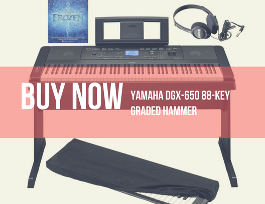 Yamaha DGX-650 88-Key Graded Hammer