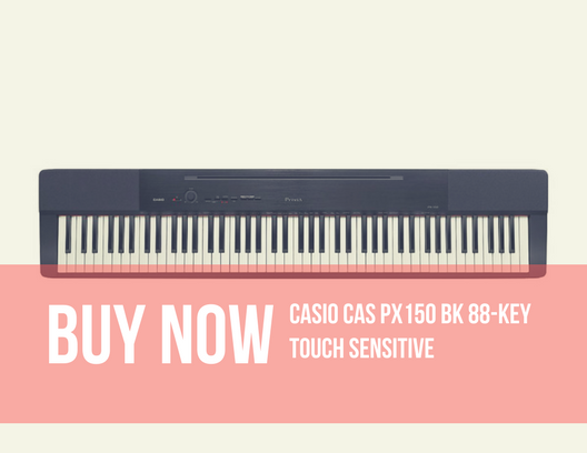 Casio CAS PX150 BK 88-Key Touch Sensitive