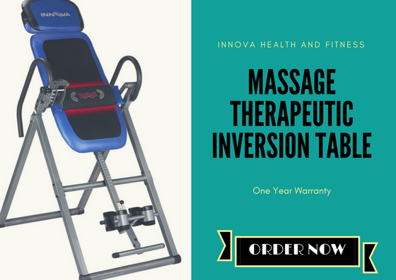 2. Innova ITM4800 Therapeutic Inversion Table