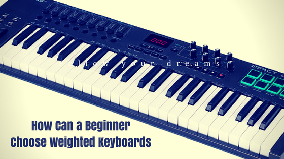 Weighted Keyboards
