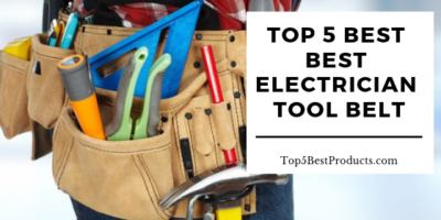 Best Electrician Tool Belt 11